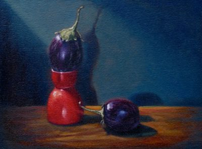 9.Eggplant in an Eggcup