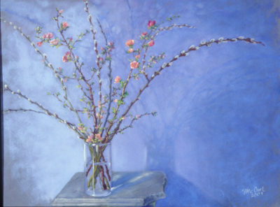 Spring - Pastel Painting by Shelley McCarl