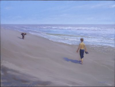 Summer Forever - Pastel Painting by Shelley McCarl - 18x24