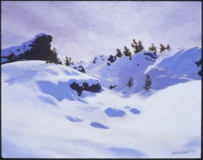 Winter Light - Oil Painting by Shelley McCarl - 11x14